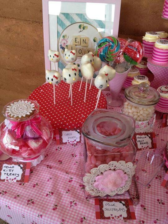 Hello Kitty party table