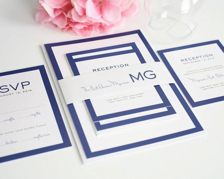 Etsy Favorites - Modern Wedding Invitations