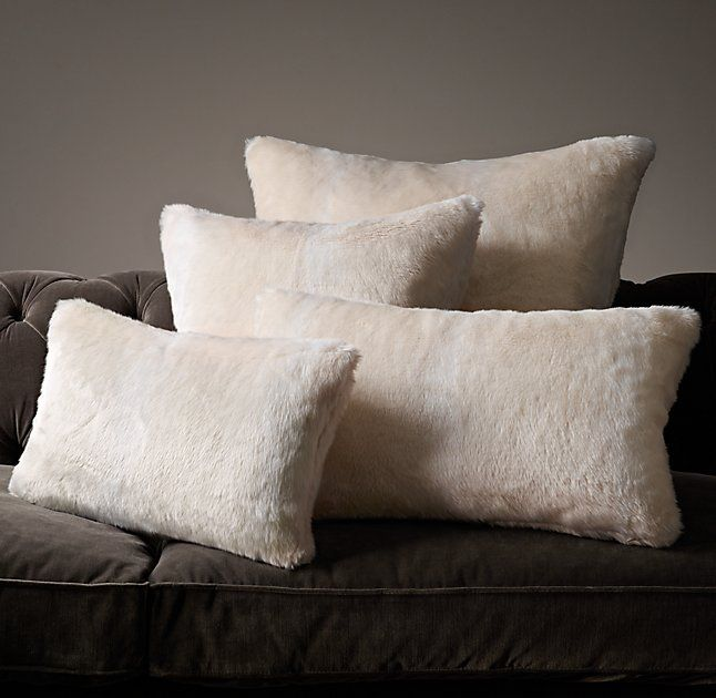 Restoration Hardware Halton Hills: 25+ Best Ideas About Fur Pillow On Pinterest