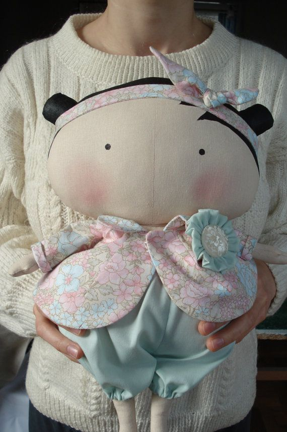 Tilda Sweetheart,Cloth doll, handmade doll, fabric doll, art doll, custom doll…