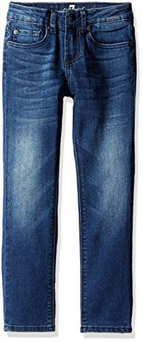 7 For All Mankind Little Boys Toddler Slimmy Slim Straight Stretch Jeans Bridgewater 2T *** To view further for this item, visit the image link.Note:It is affiliate link to Amazon.