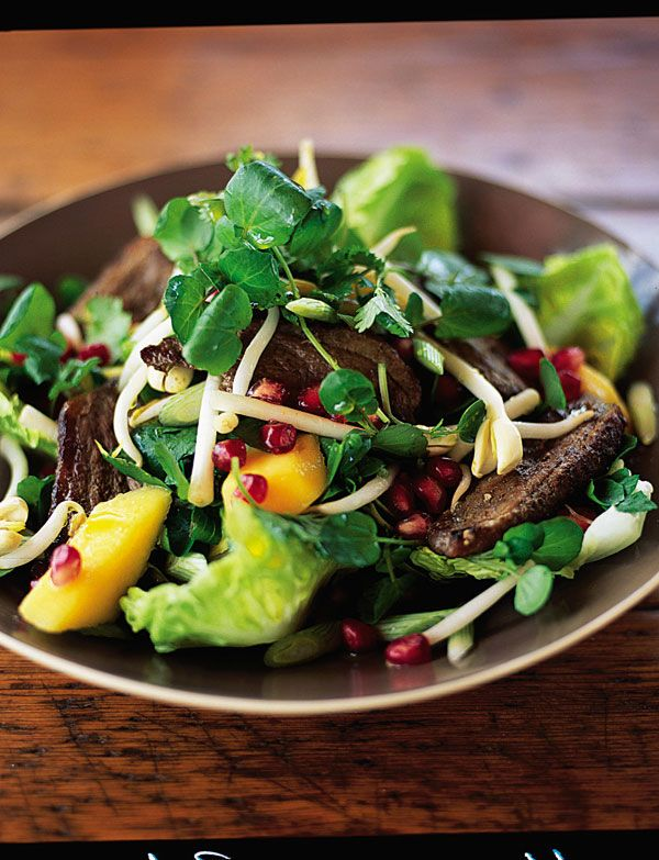 #Al Fresco #Jamie Oliver  Delicious Jamie Oliver five spice duck salad. Great for summer BBQs or outside dining