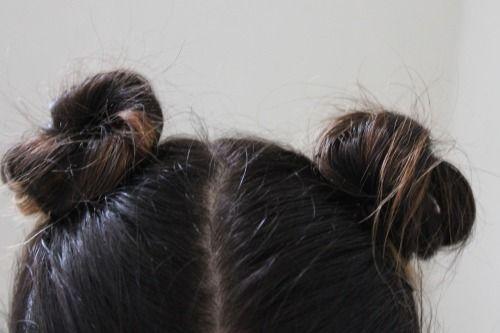 cute little topknots