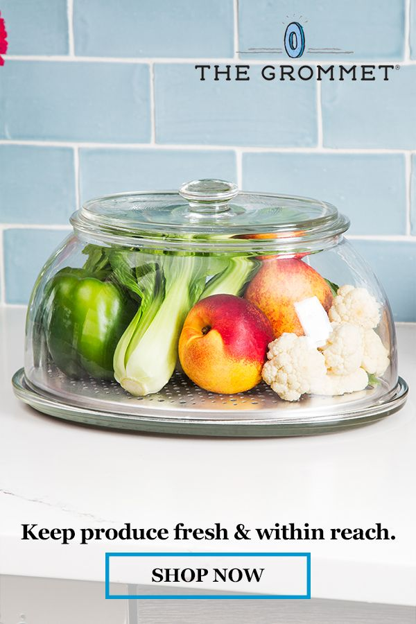 Veggidome Glass Tabletop Produce Saver Veggidome In 2021 Produce Saver How To Wash Vegetables Food