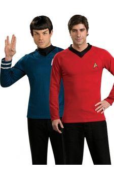 Louez les costumes de Spock et Scotty, personnages de la série Star Trek et transformez-vous en membres à part entière de la Starship lors de vos soirées déguisées sur les thèmes «séries TV», «films», «dessins animés», ...  Une excellente idée de déguisement pour tous les fans de la série Star Trek. Costumes sous licence officielle.