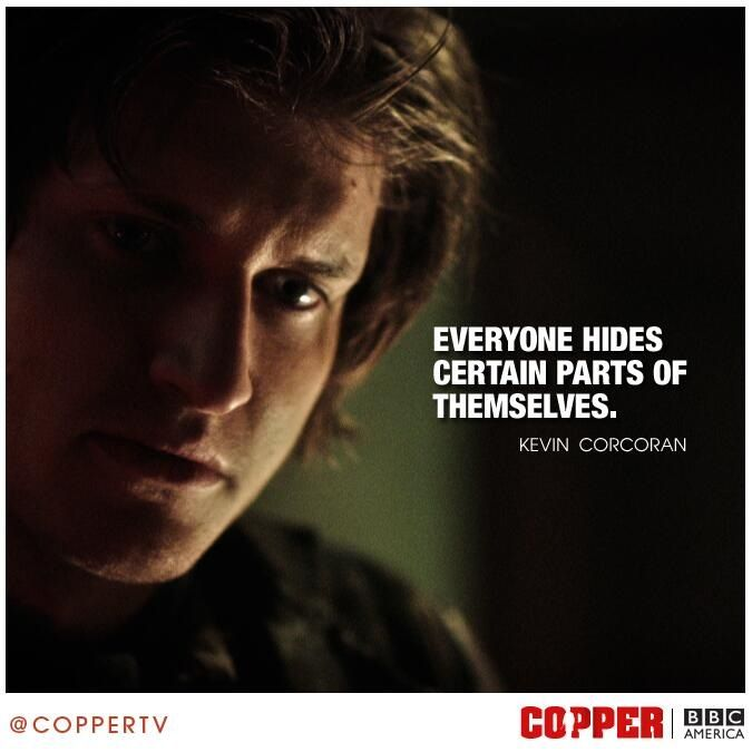 Tom Weston Jones as Kevin Corcoran on BBC Americas Copper