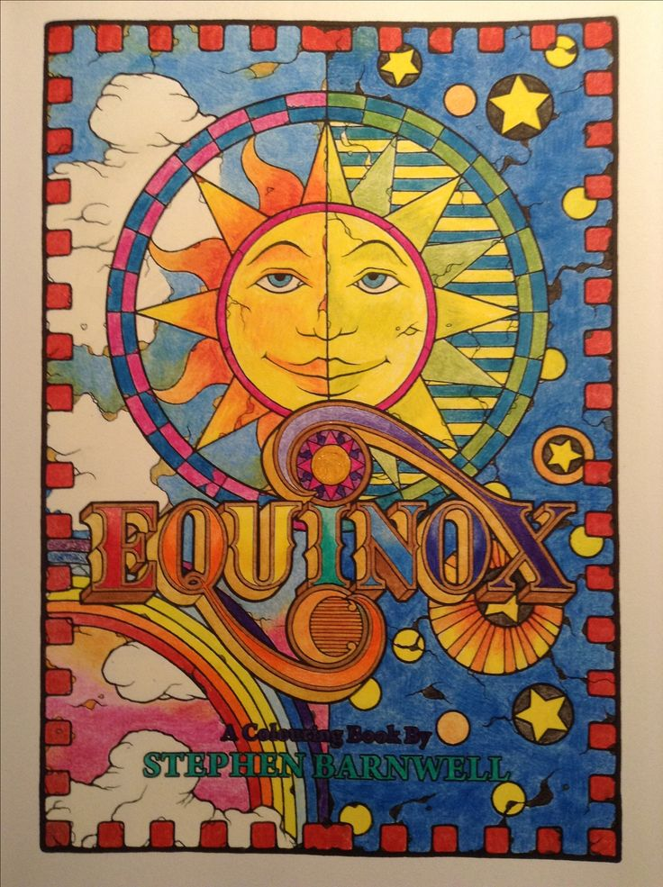 From Equinox by Stephen Barnwell