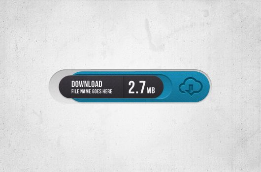 Sophis Download Button (Psd)
