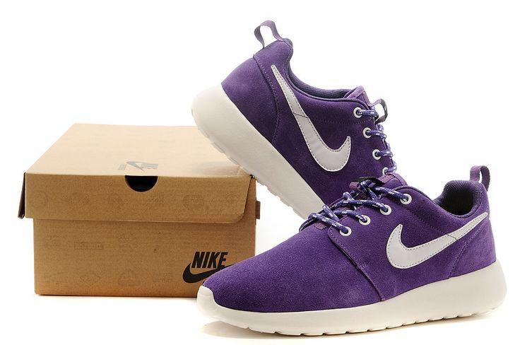 best service 6bed0 b69d7 ... Rose   Noir Nike Roshe Run Femmes Nike Roshe Run Femme,nike montante, chaussures montante nike ...
