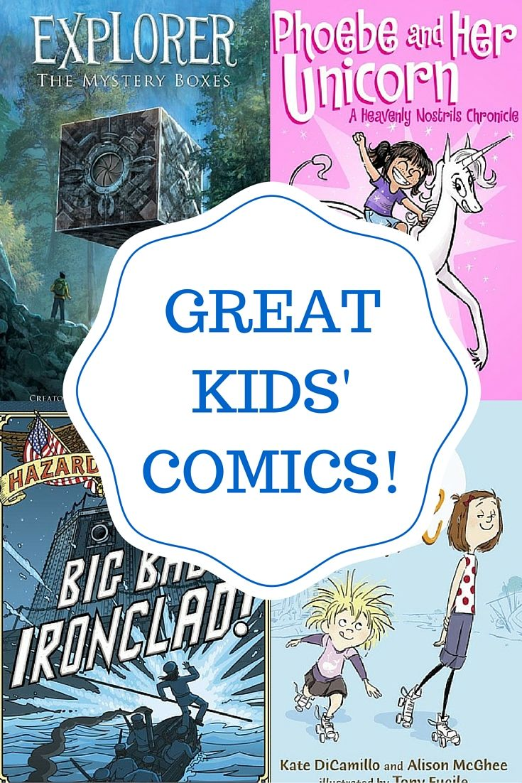 12 More Good Comics For Kids - Planet Jinxatron