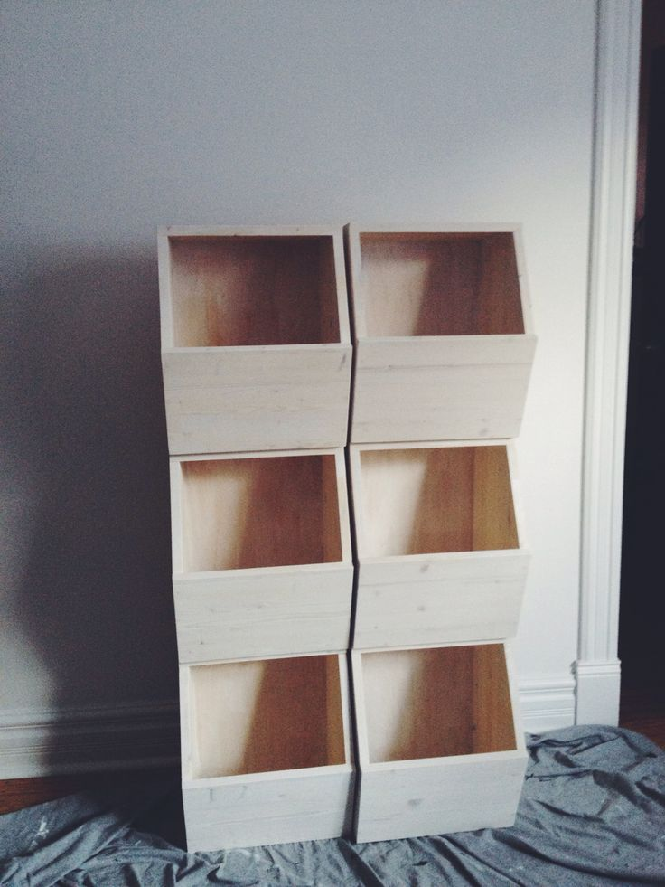 Make your own honeycomb storage bins via Row House Nest