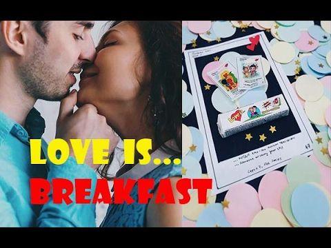 Завтрак на день всех влюбленных