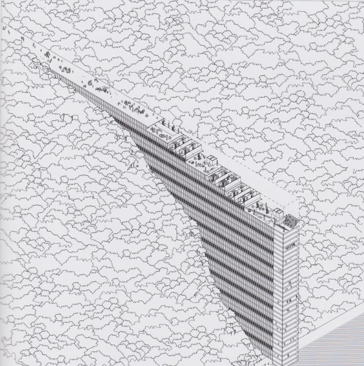 23 best utopie architettura disegnata utopian for Architettura disegnata