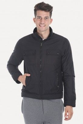 Polyester Padded Full Sleeves Cire Jacket