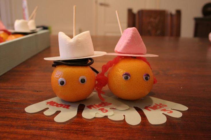 tractatie - met mandarijn