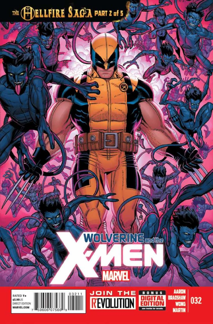 Marvel - Wolverine and the X-Men (2011) #32 1st Print