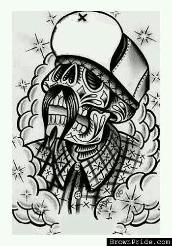 Chicano Art Coloring Pages Pin on Cholo stuff