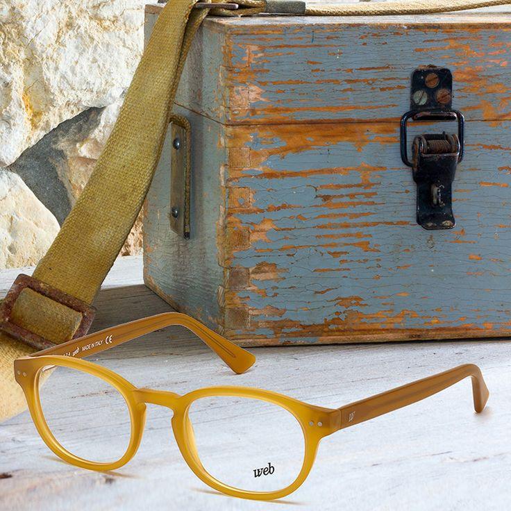 Think outside the box!  Web Eyewear eyeglasses style WE5163.