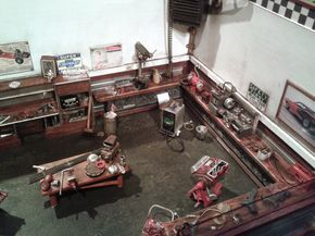 garage diorama fully detailed and fully scratch build ... - Page 24 - Dioramas - Model Cars Magazine Forum