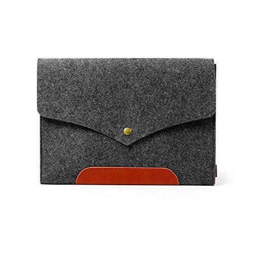 """Sinoguo Filz & Leder Laptoptasche für Apple 13 """"Macbook Air, 13 """"Macbook Pro,handgemachte Tasche, Ultrabook Notebook Hülle, für 13"""" Macbook Rentina Eguo http://www.amazon.de/dp/B00K18HMS4/ref=cm_sw_r_pi_dp_zAlIvb1GM80ZX"""