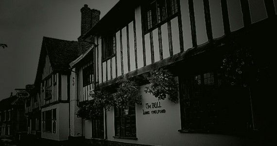 The Bull Hotel, Long Melford, Suffolk