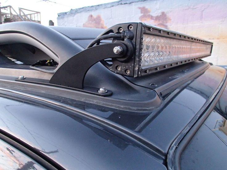 "40"" LED Light Bar Roof Mount, Nissan Xterra (20052013"