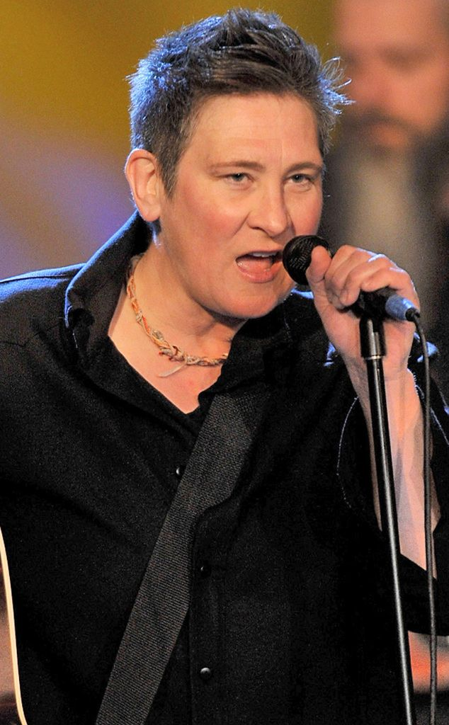 K.D. Lang. In a 1992 article from The Advocate, the country singer admitted she was a lesbian.