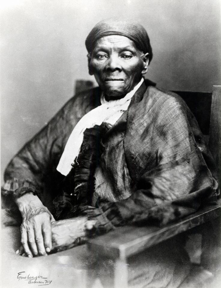 """I was conductor of the Underground Railroad for eight years, and I can say what most conductors can't say – I never ran my train off the track and I never lost a passenger.""  - Harriet Tubman"