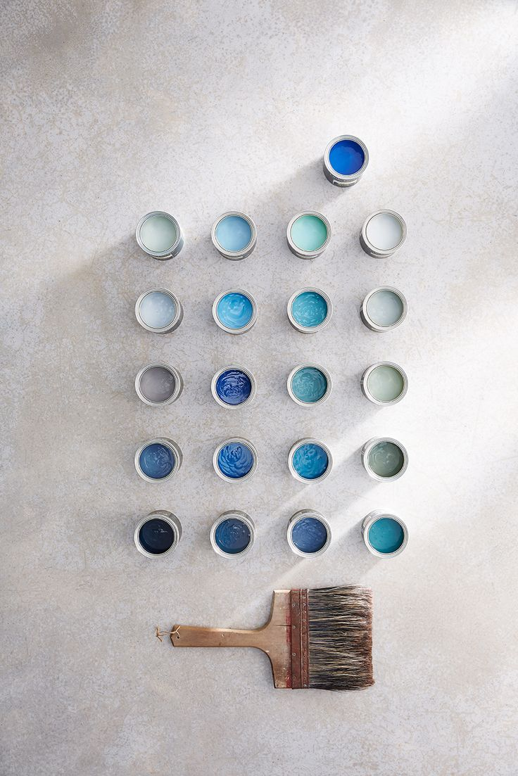 21 fashion blauwe verftinten van LITTLE GREENE uit de BLUE collectie  www.littlegreene.nl