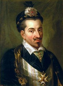 Henry III (19 September 1551 – 2 August 1589; born Alexandre Édouard de France, Polish: Henryk Walezy, Lithuanian: Henrikas Valua) was a monarch of the House of Valois who was elected the monarch of the Polish-Lithuanian Commonwealth from 1573 to 1575 and ruled as King of France from 1574 until his death. He was the last French monarch of the Valois dynasty.
