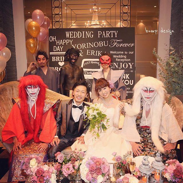 #アーカンジェル迎賓館  こ、ここまでするか!  こんなオリジナリティー溢れる余興、ほんとすごい。  やっぱり素敵な人には素敵な友人がいらっしゃいますね。  って言うか、、 たかさごが可愛すぎて、友人よりもそっちに目がいってしまう件。  笑  #結婚写真 #花嫁 #プレ花嫁 #結婚 #結婚式 #結婚準備 #婚約 #カメラマン #プロポーズ #前撮り #エンゲージ #写真家 #ブライダル #ゼクシィ #ブーケ #和装 #ウェディングドレス #ウェディングフォト #七五三 #お宮参り #記念写真  #ウェディング #IGersJP  #weddingphoto #bumpdesign #バンプデザイン