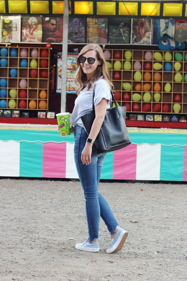 jillgg's good life (for less) | a west michigan style blog: my everyday style: a night at the local fair!
