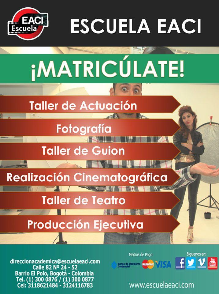 Cine y Actuación Bogotá