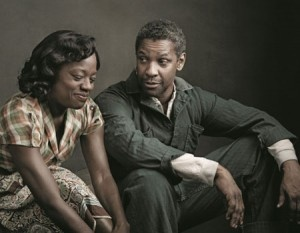 viola davis + denzel washington: FENCES by August Wilson  I will play Rose one day soon!!!  I have prepared for it for 25 yrs!!!