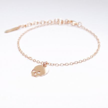 Le #bracelet tendance en #or fin - Prix 25 euros TTC - En stock  #art #vanité #Cézanne #crane #monpetitmusée