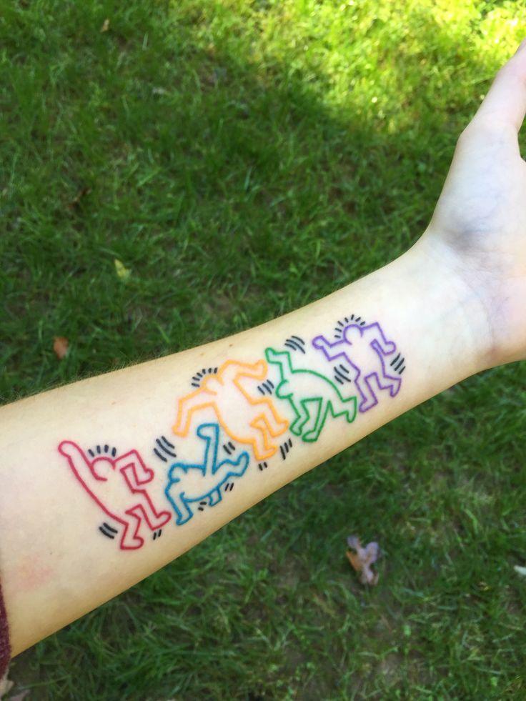 Henna Tattoo Richmond Va : Keith haring tattoos pinterest first tattoo