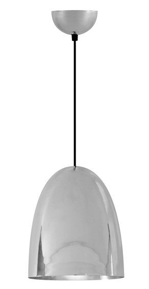 The Cooper Pendant Smooth Nickel - £330.00 - Hicks and Hicks