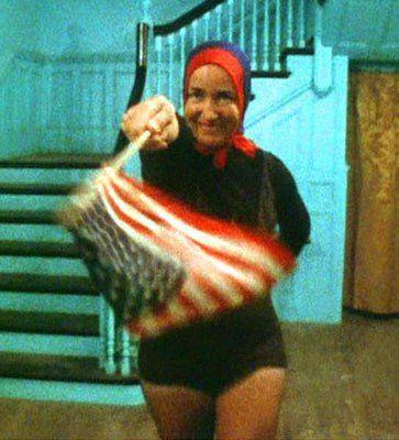 Little Edie's fabulous flag dance <3