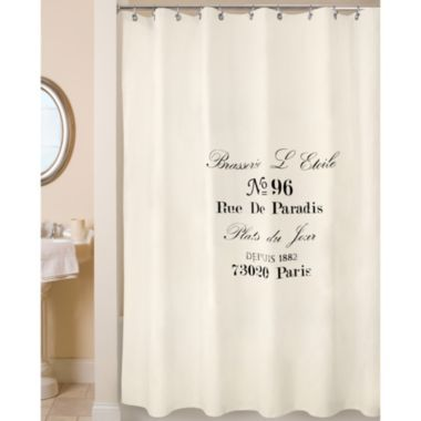 Park B Smith Brasserie Shower Curtain Jcpenney