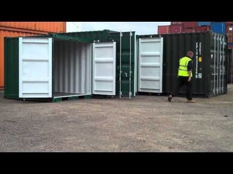 The following video shows a 20ft, 10ft and 8ft new build shipping containers for sale. For further information on shipping container sales , shipping container rentals, shipping container hire , shipping container conversions and modifications please contact Bullman Marine -- info@bullmans.co.uk -- www.bullmans.co.uk