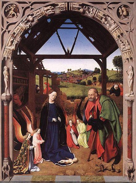 Weihnachten Wikipedia.Petrus Christus Wikipedia Geburt Jesus Christus In 2019