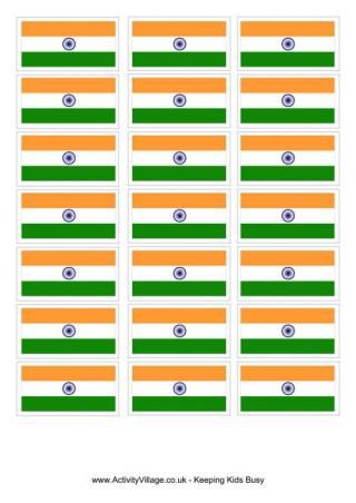 India Flag Printable