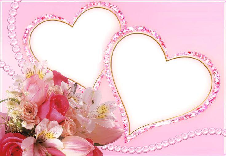 Speciale San Valentino effetti fotografici, cornici e decorazioni d'amore per la festa degli Innamorati.