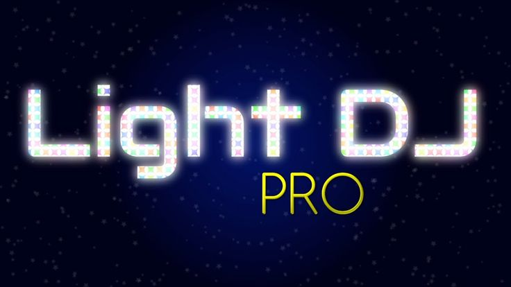 Light DJ Pro - Light Show Creator - Now available on the App Store!