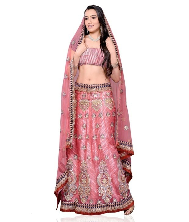 #Snapdealbestproducts http://www.snapdeal.com/product/divaa-trendy-pink-designer-lehenga/199357?pos=9;32