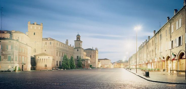 **Piazza dei Martiri (one of the largest piazzas in Italy) - Carpi, Italy
