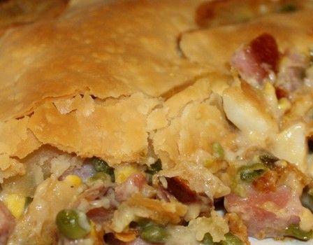 ham pot pie -- delicious recipe for leftover ham