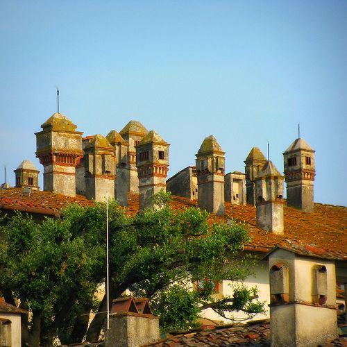Villa dei Cento Camini - Artimino Villa Medicea La Ferdinanda #TuscanyAgriturismoGiratola