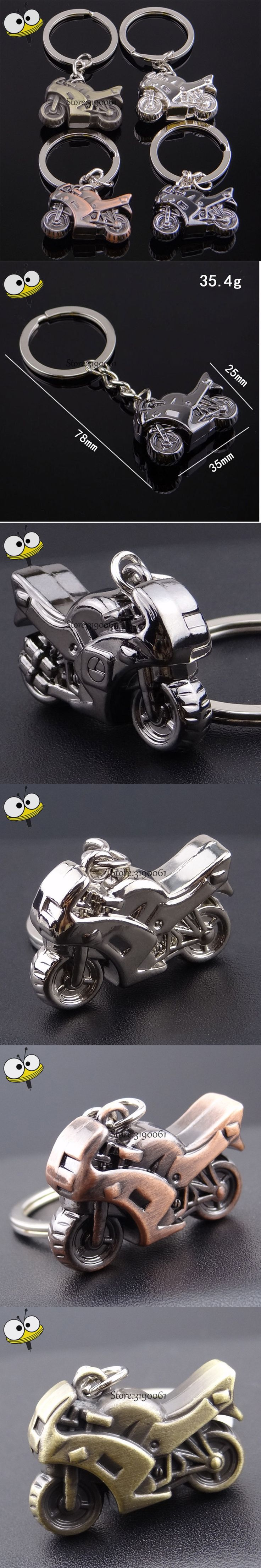 Fashion 3D Metal Motorcycle Keychain Car Key Ring Key Holder Car Styling  For Vauxhall Suzuki Ford