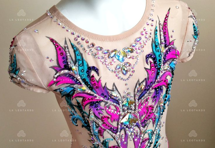 Competition Rhythmic Gymnastics Leotard SOLD by LALEOTARDS on Etsy